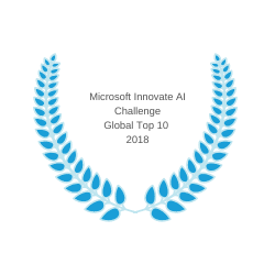 Microsoft Innovate AI Challenge Global Top 10