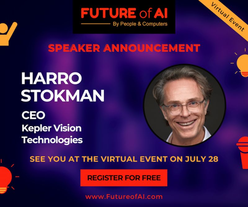 CEO Harro Stokman spreekt op Future of AI