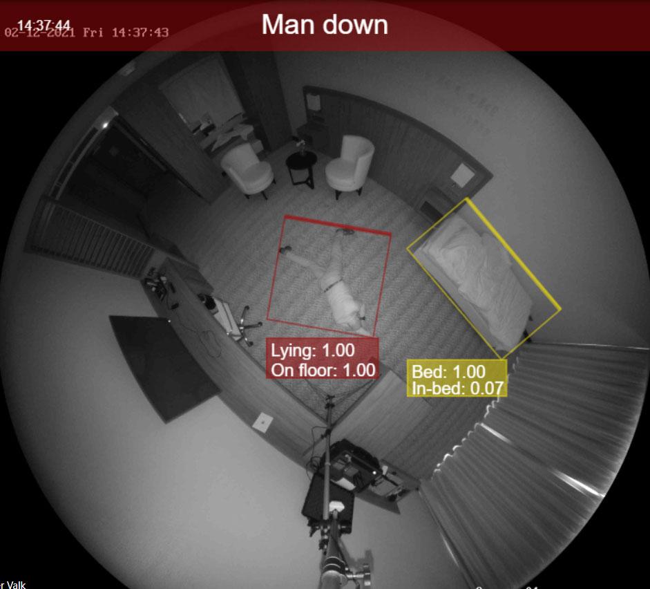 Zorginstelling Herfstbloem - Kamer 22: Cliënt is gevallen! notificatie